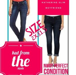 KUT from the Kloth Jeans Size 2x31.5 Catherine BF